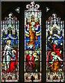 SO7937 : East window, St Gregory's church, Castlemorton by Bob Embleton