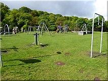 SX5994 : Playground, Simmons Park, Okehampton by David Smith
