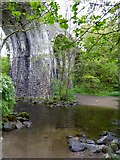 SX6094 : Fatherford ford and railway bridge, Okehampton by David Smith