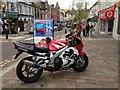H4572 : Honda motorbike, Omagh by Kenneth  Allen