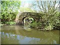 ST6669 : Londonderry Wharf Bridge, over Siston Brook by Christine Johnstone