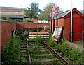 ST5772 : Buffer at the NW end of Wapping Railway Wharf, Bristol by Jaggery