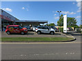 TL3541 : Mantles Used car centre by Hugh Venables