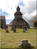 SO3958 : Bell tower, St Mary's Church, Pembridge by John Lord