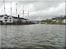 ST5772 : The SS Great Britain at Wapping Dockyard by Christine Johnstone