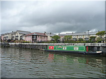 ST5772 : Housing at Poole's Wharf, Bristol's Floating Harbour by Christine Johnstone