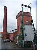 ST5772 : Hydraulic pump house, Underfall Yard by Christine Johnstone