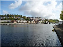ST5772 : Clifton Wood from Baltic Wharf, Bristol by Christine Johnstone