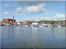 ST5772 : The western end of Bristol's Floating Harbour by Christine Johnstone
