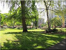 TQ3379 : St Mary's Churchyard, Bermondsey by Stephen Craven