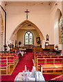 SK8378 : Interior, St Peter's church, Torksey by Julian P Guffogg