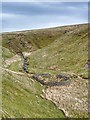 NY9316 : Sheepfold, Crawlaw Gill by Mick Garratt