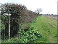 TM4060 : Junction On The Sandlings Walk by Keith Evans