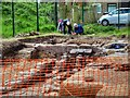 SD7907 : Radcliffe Tower Archaeological Dig, Foundations of Manor House by David Dixon