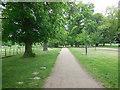 TQ1477 : Path in Osterley Park by Paul Gillett