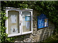 ST6065 : Church notice board by Neil Owen