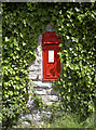 ST6065 : Leafy post box by Neil Owen