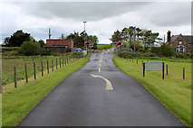 NU0445 : Level Crossing at Goswick by Chris Heaton