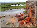 NY9618 : Overflow to Water Tank by Mick Garratt
