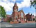 SJ9391 : George Lane United Reformed Church by Gerald England