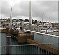 SX9163 : Torquay Harbour Bridge (footbridge) by Jaggery