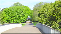 SJ6855 : Bandstand at west side of Queen's park by Garry Lavender-Rimmer