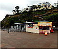 SX9163 : The Beach Kiosk and Pier Point, Torquay by Jaggery