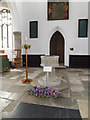 TM1180 : Font of St.Mary the Virgin Church by Adrian Cable