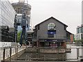 TQ3779 : Buildings within Millwall Inner Dock by Stephen Craven