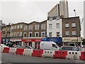 TQ3875 : Shops at the north end of Lewisham High Street by Stephen Craven