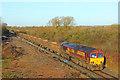 SP7517 : Freight train at Waddeston by Wayland Smith