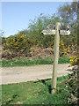 TM4560 : Footpath Junction by Keith Evans