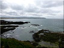 C8137 : A rocky shore, Portstewart by Kenneth  Allen