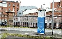 J3374 : E-car charging point, Belfast (May 2015) by Albert Bridge