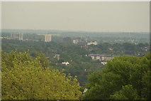 TQ3370 : View of the southeast from the Crystal Palace terrace #32 by Robert Lamb