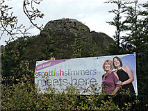NS4174 : Scottish Slimmers banner by Thomas Nugent