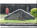 NS4174 : Old milestone at Dumbuck by Thomas Nugent