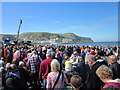 SH7882 : The Crowded South Parade at Llandudno by Jeff Buck
