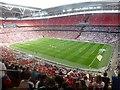 TQ1985 : Preston North End Win At Wembley by Rude Health