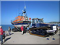 SH7882 : Llandudno Lifeboat and Tractor by Jeff Buck