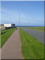 NT9564 : Road to Eyemouth Harbour by Oliver Dixon