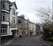 SD6592 : The Red Lion and The White Hart - Sedbergh by Anthony Parkes