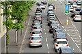 J3474 : Evening peak traffic, Middlepath Street, Belfast (May 2015) by Albert Bridge