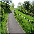 SO1610 : Steep path up from Pontygof, Ebbw Vale by Jaggery