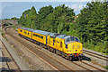 ST4387 : South Wales Main Line at Undy by Wayland Smith