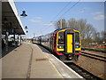 TL5479 : Train at Ely station (1) by Richard Vince