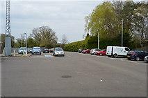TQ5038 : Car park, Ashurst Station by N Chadwick