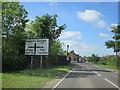 SP0549 : B4088 Harvington Approaching Crossroads by Roy Hughes