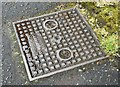 J3674 : Forsythe access cover, Belfast - May 2015(1) by Albert Bridge
