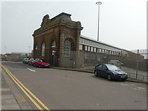 TR3140 : Entrance to the Admiralty Pier, Lord Warden Square by John Baker